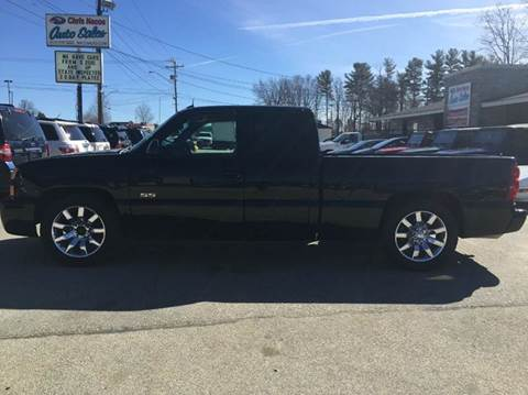 2003 Chevrolet Silverado 1500 SS for sale at Chris Nacos Auto Sales in Derry NH