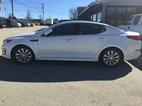 2015 Kia Optima for sale at Chris Nacos Auto Sales in Derry NH
