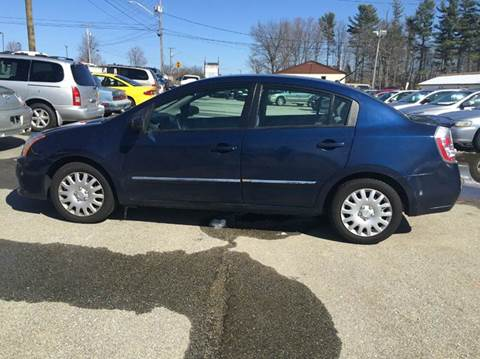 2012 Nissan Sentra for sale at Chris Nacos Auto Sales in Derry NH