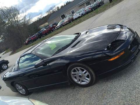 1996 Chevrolet Camaro for sale at Chris Nacos Auto Sales in Derry NH