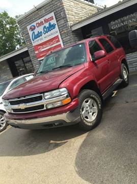 2004 Chevrolet Tahoe for sale at Chris Nacos Auto Sales in Derry NH