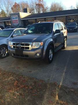 2008 Ford Escape for sale at Chris Nacos Auto Sales in Derry NH