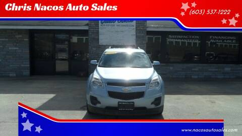 2014 Chevrolet Equinox for sale at Chris Nacos Auto Sales in Derry NH