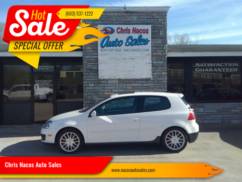 2006 Volkswagen GTI for sale at Chris Nacos Auto Sales in Derry NH