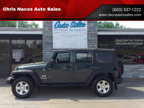 2007 Jeep Wrangler Unlimited for sale at Chris Nacos Auto Sales in Derry NH