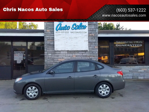 2008 Hyundai Elantra for sale at Chris Nacos Auto Sales in Derry NH