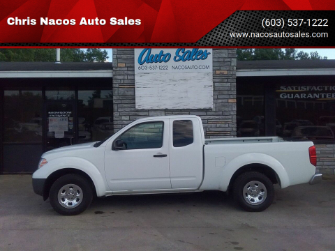 2013 Nissan Frontier for sale at Chris Nacos Auto Sales in Derry NH