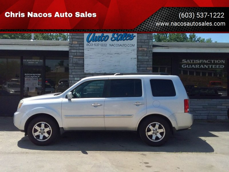 2009 Honda Pilot for sale at Chris Nacos Auto Sales in Derry NH