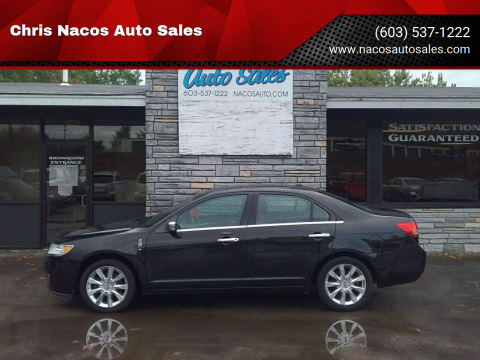 2012 Lincoln MKZ for sale at Chris Nacos Auto Sales in Derry NH