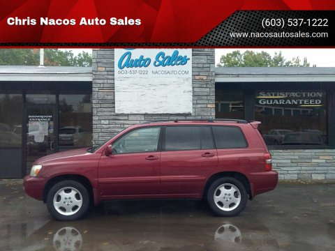 2006 Toyota Highlander for sale at Chris Nacos Auto Sales in Derry NH