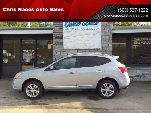 2012 Nissan Rogue for sale at Chris Nacos Auto Sales in Derry NH