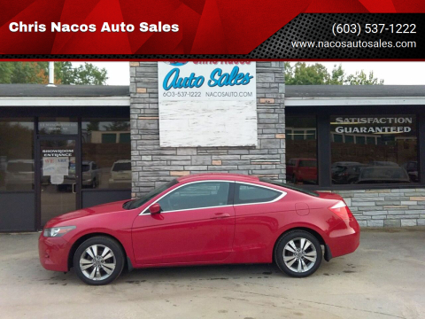 2010 Honda Accord for sale at Chris Nacos Auto Sales in Derry NH