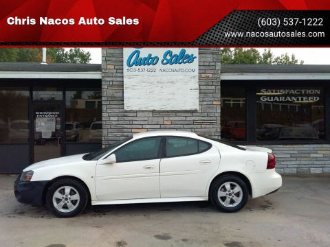 2006 Pontiac Grand Prix for sale at Chris Nacos Auto Sales in Derry NH