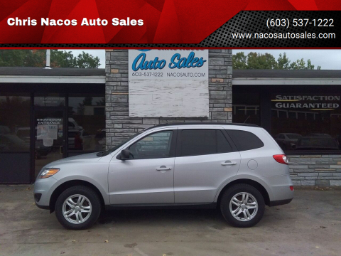 2010 Hyundai Santa Fe for sale at Chris Nacos Auto Sales in Derry NH