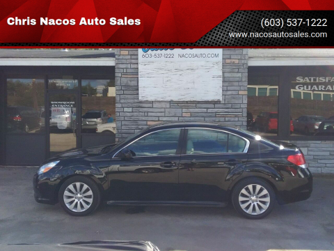 2010 Subaru Legacy for sale at Chris Nacos Auto Sales in Derry NH