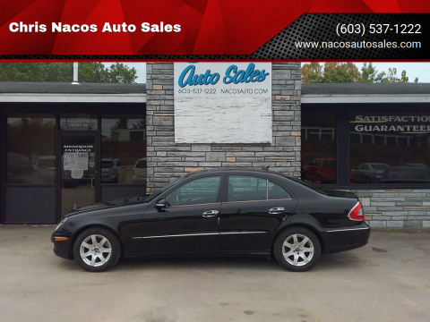 2008 Mercedes-Benz E-Class for sale at Chris Nacos Auto Sales in Derry NH