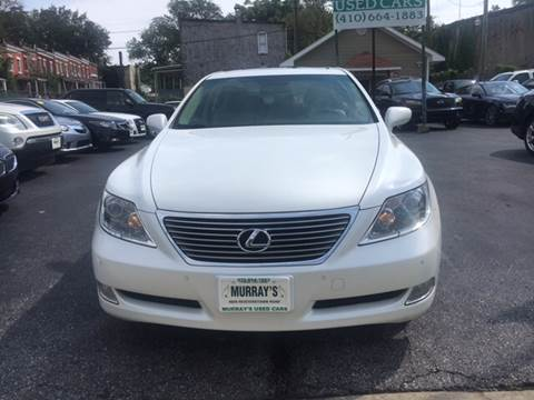 2007 Lexus LS 460 for sale at Murrays Used Cars Inc in Baltimore MD