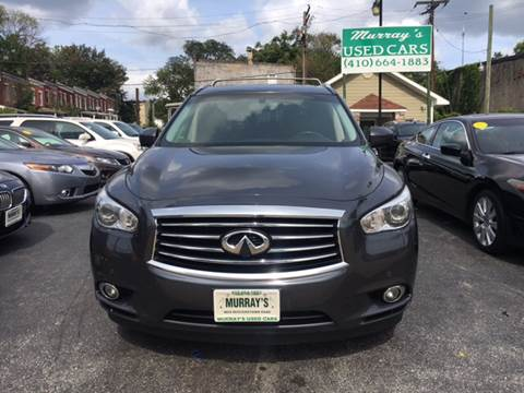 2013 Infiniti JX35 for sale at Murrays Used Cars in Baltimore MD