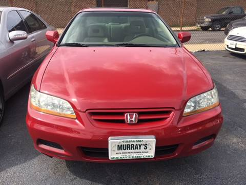 2002 Honda Accord for sale at Murrays Used Cars in Baltimore MD