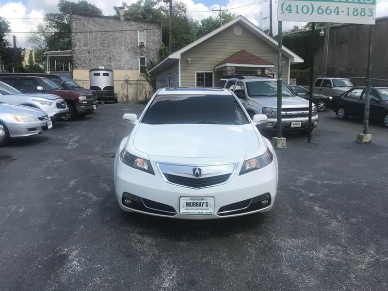 Acura TL SHAWD WTech In Baltimore MD Murrays Used Cars - Acura tl for sale in md