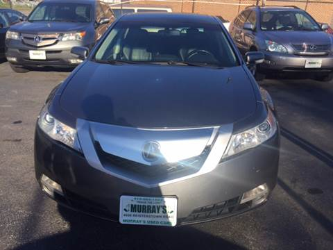 2010 Acura TL for sale at Murrays Used Cars in Baltimore MD