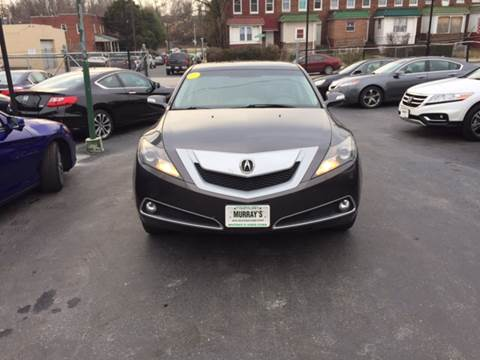 2010 Acura ZDX for sale at Murrays Used Cars in Baltimore MD