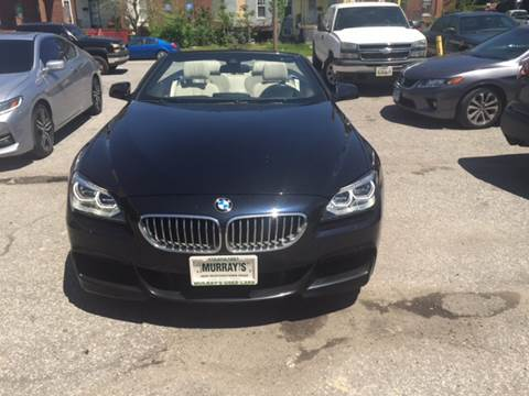 2014 BMW 6 Series for sale in Baltimore, MD