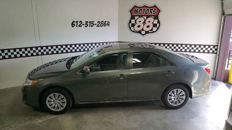 2013 Toyota Camry for sale at MOTORS 88 in New Brighton MN