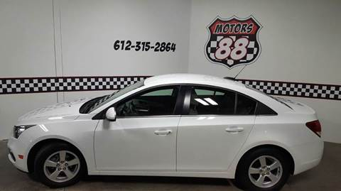 2015 Chevrolet Cruze for sale at MOTORS 88 in New Brighton MN