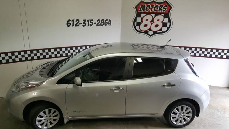 2013 Nissan LEAF for sale at MOTORS 88 in New Brighton MN