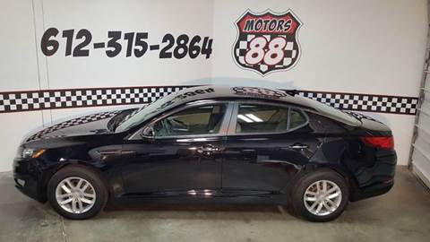 2013 Kia Optima for sale at MOTORS 88 in New Brighton MN