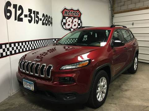 2015 Jeep Cherokee for sale at MOTORS 88 in New Brighton MN