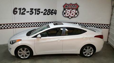 2013 Hyundai Elantra for sale at MOTORS 88 in New Brighton MN