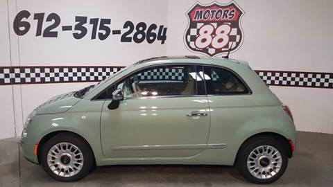 2012 FIAT 500 for sale at MOTORS 88 in New Brighton MN