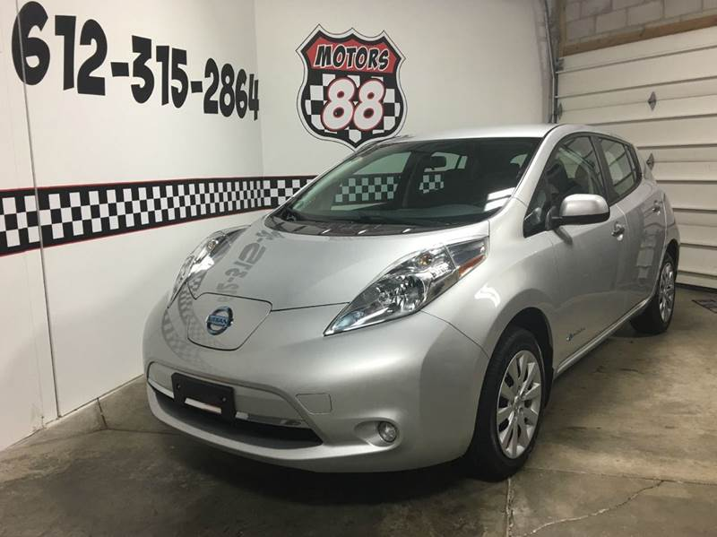2015 Nissan LEAF for sale at MOTORS 88 in New Brighton MN