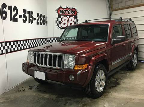 2007 Jeep Commander for sale at MOTORS 88 in New Brighton MN
