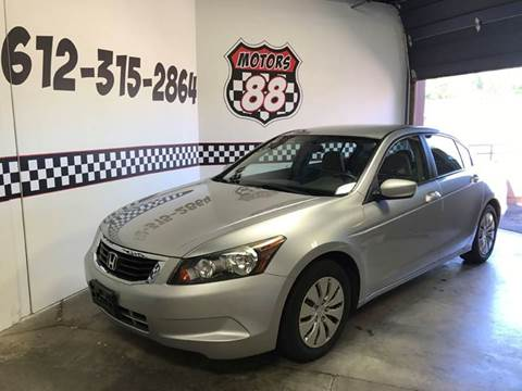 2008 Honda Accord for sale at MOTORS 88 in New Brighton MN