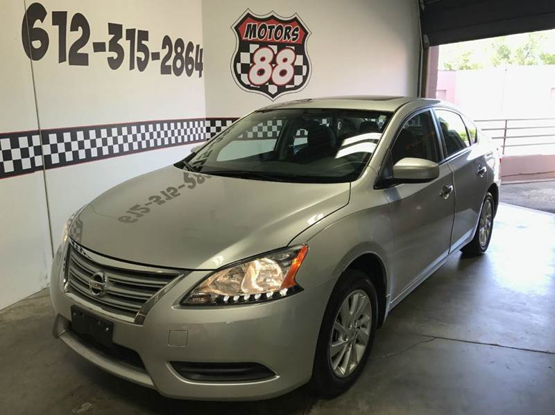 2015 Nissan Sentra for sale at MOTORS 88 in New Brighton MN