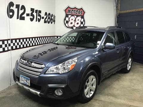 2014 Subaru Outback for sale at MOTORS 88 in New Brighton MN