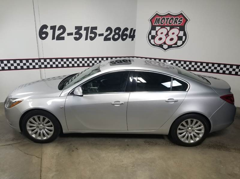 2011 Buick Regal for sale at MOTORS 88 in New Brighton MN