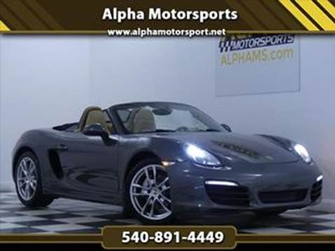 2013 Porsche Boxster for sale in Fredericksburg, VA