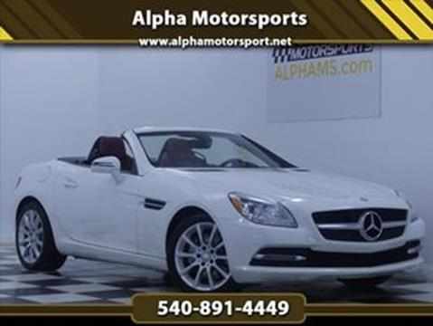 2016 Mercedes-Benz SLK for sale in Fredericksburg, VA