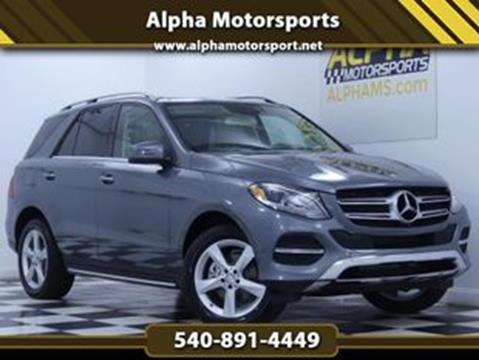2018 Mercedes-Benz GLE for sale in Fredericksburg, VA