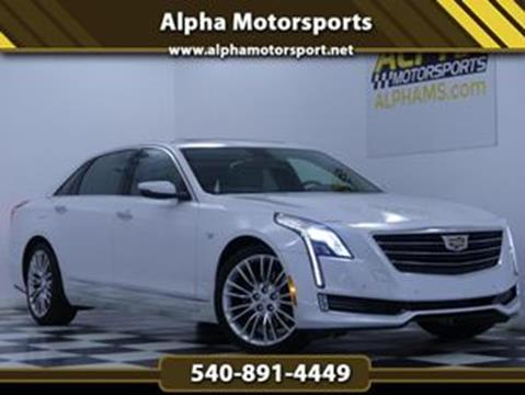2016 Cadillac CT6 for sale in Fredericksburg, VA