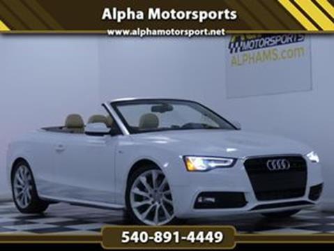 2016 Audi A5 for sale in Fredericksburg, VA