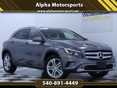 2016 Mercedes-Benz GLA for sale in Fredericksburg, VA