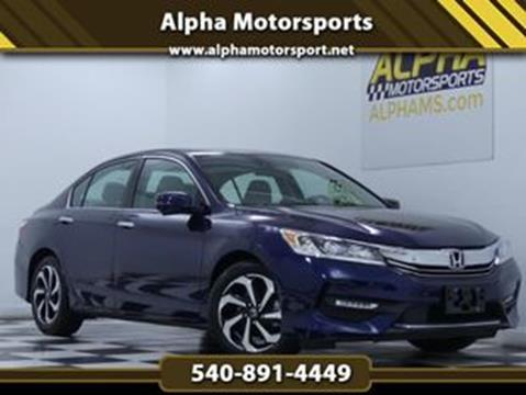 2017 Honda Accord for sale in Fredericksburg, VA