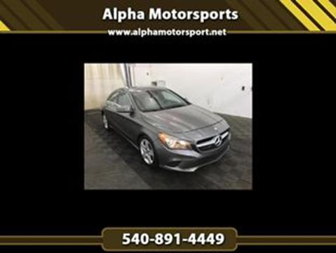 2016 Mercedes-Benz CLA for sale in Fredericksburg, VA