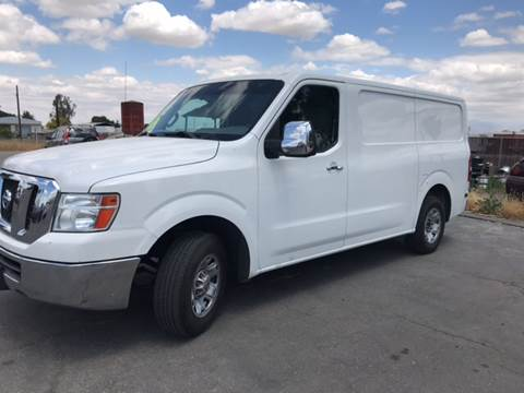 2012 Nissan NV Cargo for sale at First Choice Auto Sales in Bakersfield CA
