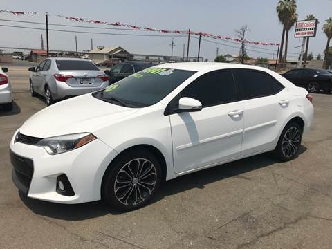 2016 Toyota Corolla for sale at First Choice Auto Sales in Bakersfield CA